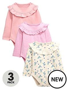 ladybird-baby-girls-3pk-long-sleeve-ruffle-bodysuits
