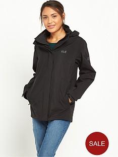 jack-wolfskin-highland-waterproof-jacket-black