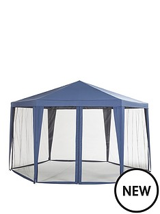 hexagon-gazebo-with-mosquito-net