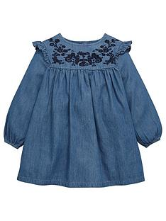 mini-v-by-very-girls-embroidered-ruffle-sleeve-denim-dress