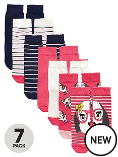 mini-v-by-very-girls-puppy-stripe-socks-7-pack