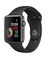 Watch Series 1, 42mm Space Grey Aluminium Case with Black Sport Band