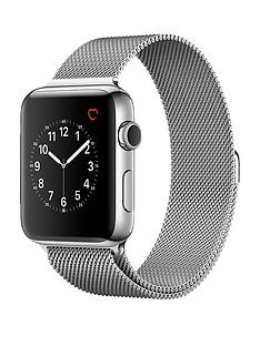 apple-watch-series-2-42mm-stainless-steel-case-with-silver-milanese-loop