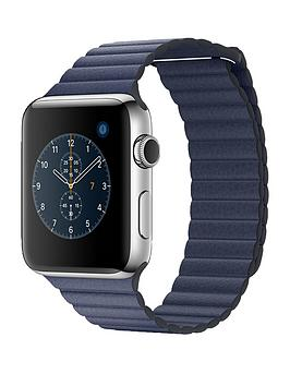 apple-watch-series-2-42mm-stainless-steel-case-with-midnight-blue-leather-loop-large