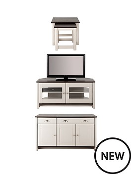 consort-tivoli-3-piece-package-ready-assembled-sideboard-corner-tv-unit-and-nest-of-tables-in-greywalnut-effect-buy-and-save