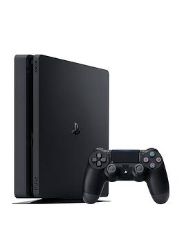 playstation-4-slim-1tbnbspconsole-with-optional-extra-controller-andor-12-months-playstation-network