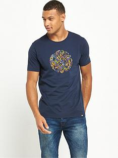 pretty-green-paisley-logo-t-shirt