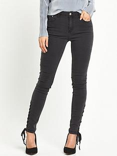 glamorous-tie-side-jeans