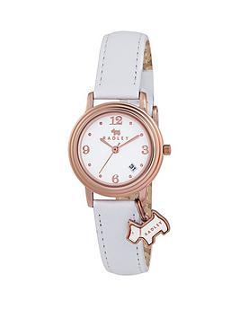 radley-radley-white-dial-rose-tone-dial-white-leather-strap-ladies-watch