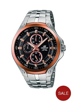 casio-edifice-black-multi-dial-partial-ion-plated-stainless-steel-mens-watch