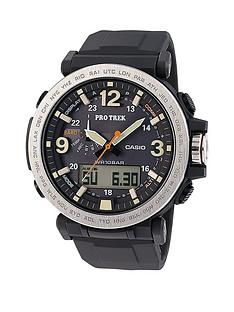 casio-casio-pro-trek-multi-dial-100m-water-resistant-black-strap-mens-watch