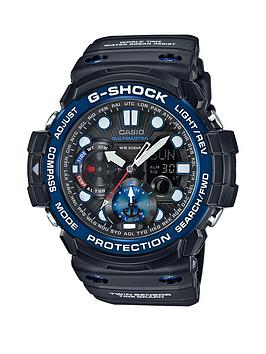 casio-casio-g-shock-black-multi-dial-blue-bezel-black-strap-mens-watch