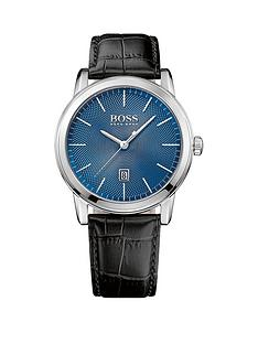 hugo-boss-black-hugo-boss-boss-black-classi-1-blue-dial-black-leather-strap-mens-watch