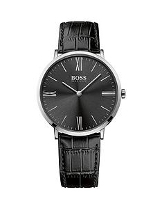 boss-hugo-boss-boss-black-jackson-black-dial-black-leather-strap-mens-watch