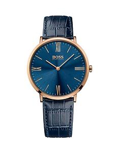 hugo-boss-black-hugo-boss-boss-black-jackson-blue-dial-blue-leather-strap-mens-watch