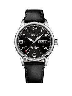 hugo-boss-black-pilot-vintage-black-dial-black-leather-mens-watch