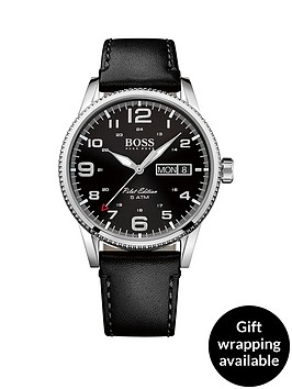 hugo-boss-black-pilot-vintage-black-dial-black-leather-mens-watch