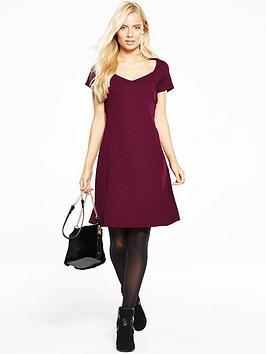 v-by-very-textured-jacquard-skater-dress