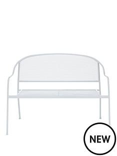 capri-mesh-2-seater-stacking-bench