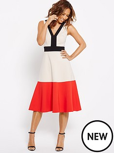myleene-klass-colour-block-full-circle-dress