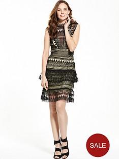 v-by-very-sleeveless-lace-frill-dress--nbsp-blackivory