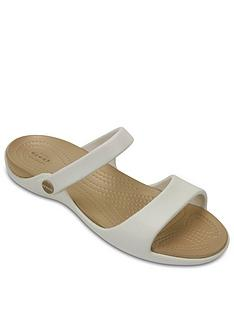 crocs-cleo-v-ankle-strap-sandals-white