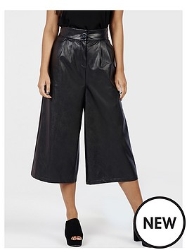 girls-on-film-faux-leather-culottes