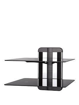 avf-zms1200-any-wall-adjustable-glass-av-shelving-2-shelves