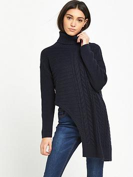 lost-ink-assymetric-roll-neck-jumper