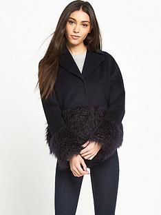 lost-ink-faux-fur-hem-and-cuff-jacket-black