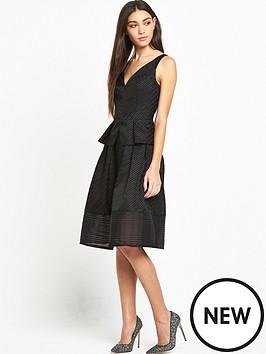 lost-ink-gabriella-textured-stripe-dress