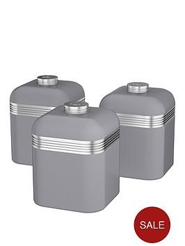 swan-retro-set-of-3-storage-canisters-ndash-grey