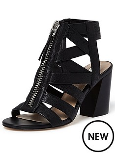 river-island-caged-block-heel-shoe-boot-black