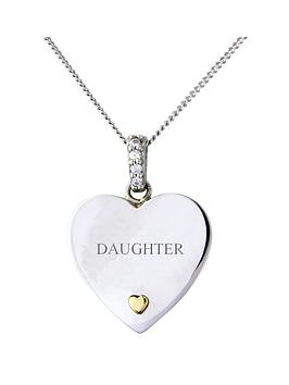 keepsafe-keepsafe-personalised-sterling-silver-and-9ct-gold-heart-stone-set-pendant