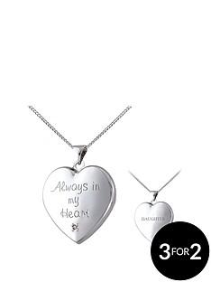 keepsafe-keepsafe-always-in-my-heart-sterling-silver-diamond-set-message-locket