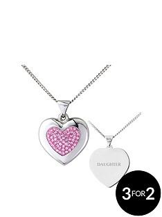 keepsafe-keepsafe-sterling-silver-pink-crystal-personalised-pendant