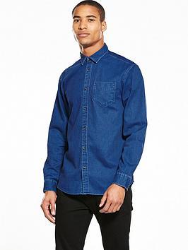 selected-homme-indigo-denim-shirt