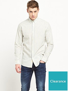 selected-homme-long-sleeved-stripe-shirt