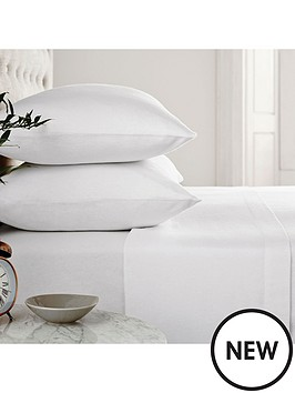 silentnight-silentnight-supersoft-100-brushed-cotton-fitted-sheet-with-free-pillowcases-double