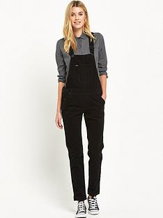 lee-bib-dungaree-black