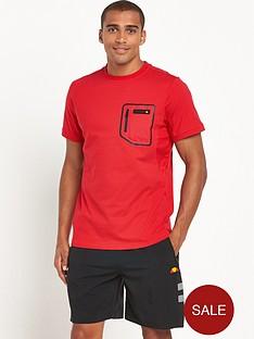 ellesse-ostuni-pocket-fitness-t-shirt