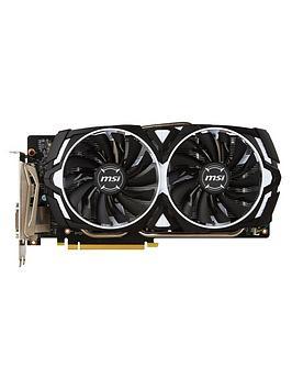 msi-nvidianbspgeforce-gtx-1060-armornbsp3gbnbspocv1-gddr5-pci-express-graphics-card