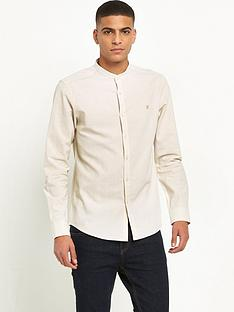 farah-steen-long-sleeve-grandad-shirt
