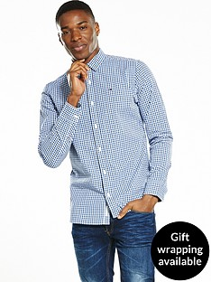 hilfiger-denim-gingham-checked-long-sleeve-shirt