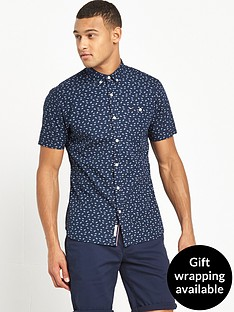 hilfiger-denim-ditsy-print-short-sleeve-shirt