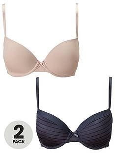 dorina-2-pack-louise-t-shirt-bra-charcoalblush