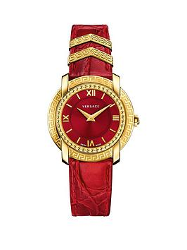 versace-versace-dv25-round-red-dial-red-leather-strap-ladies-watch