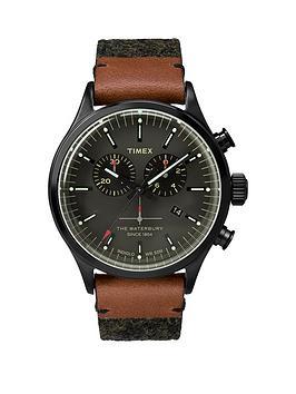 timex-timex-waterbury-chrono-black-dial-with-black-leather-strap-mens-watch