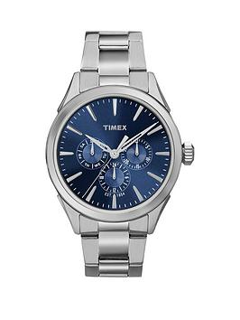 timex-timex-chesapeake-multi-function-blue-dial-stainless-steel-bracelet-mens-watch