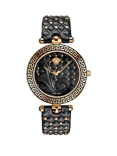 versace-versace-vanitas-black-dial-black-leather-strap-ladies-watch